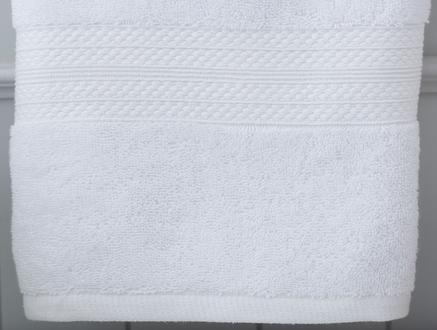 Roxane Düz Yüz Havlusu - Beyaz