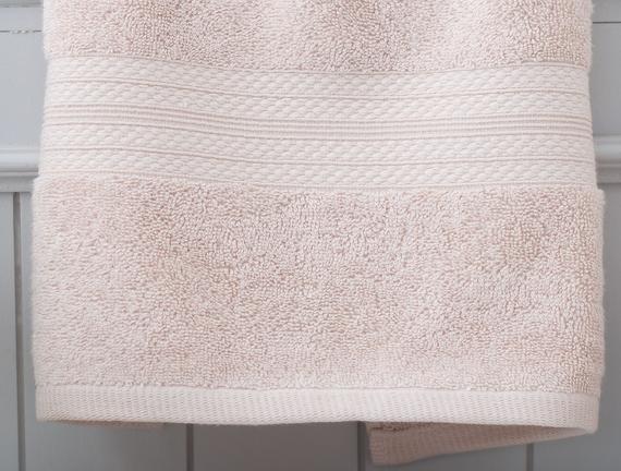 Roxane Yüz Havlusu - Pudra - 50x76 cm