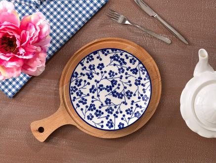 Rêve Bleu Ange Pasta Tabağı - 19 cm