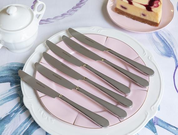 Crown Tatlı Bıçağı 6`li Set