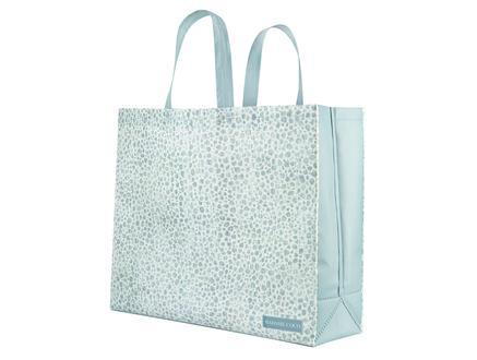 Marsilya Alışveriş Çantası - Mavi / Beyaz