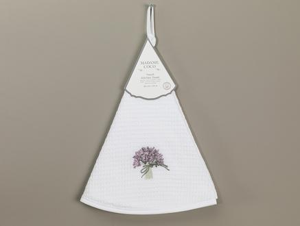 Yseult Mutfak Havlusu - Beyaz - 60 cm
