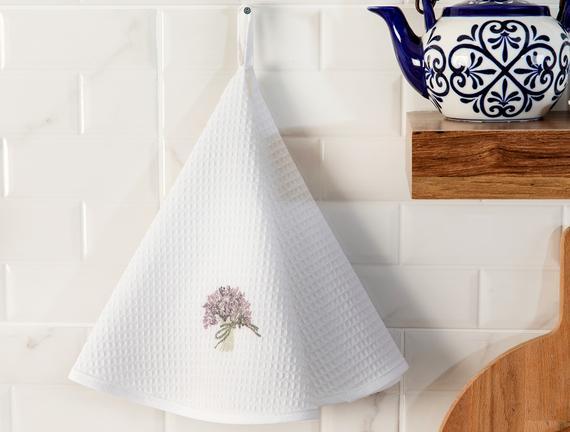 Yseult Mutfak Havlusu - Beyaz