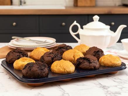 Alita Muffin Kek Kalıbı - Bakır