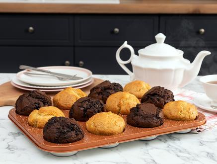 Alita Muffin Kek Kalıbı - Ekru