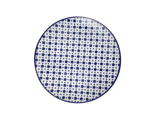 Rêve Bleu Délicat Pasta Tabağı - 19 cm