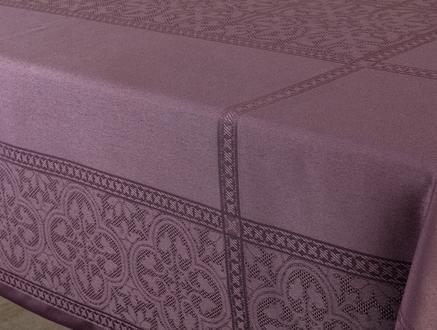 Moroccon Masa Örtüsü - Mürdüm