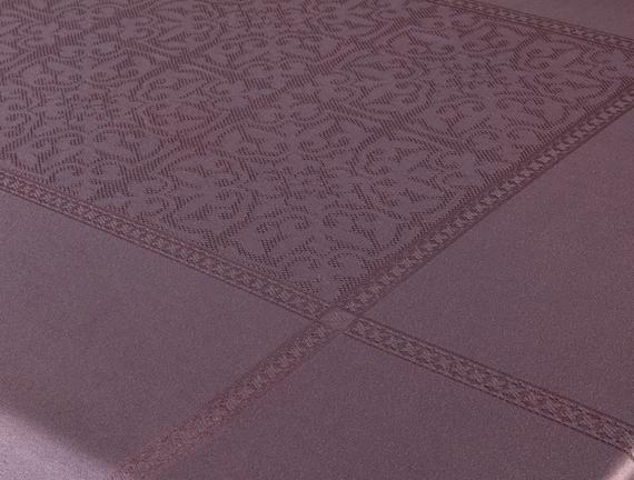 Moroccon Masa Örtüsü - Mürdüm - 160x230 cm