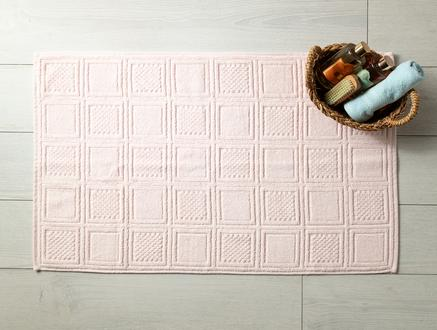 Noemine Ayak Havlusu - Pembe - 50x80 cm