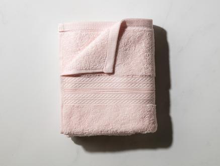 Roxane Yüz Havlusu - Pembe - 50x76 cm
