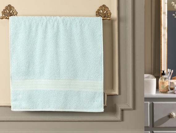 Roxane Yüz Havlusu - Mint Yeşili - 50x76 cm