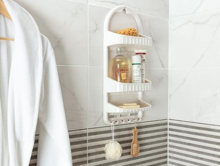 Leonda Banyo Askısı - Soft Ekru