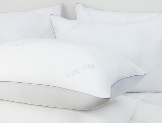 Aloevera Yastık - Beyaz