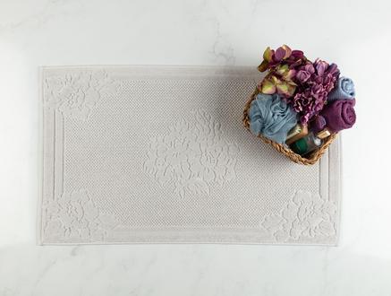 Olive Ayak Havlusu - Gri - 50x80 cm