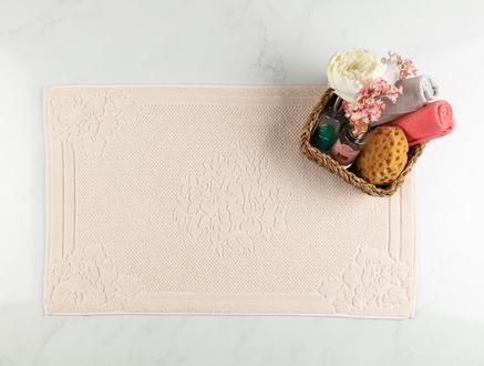 Olive Ayak Havlusu - Bej - 50x80 cm