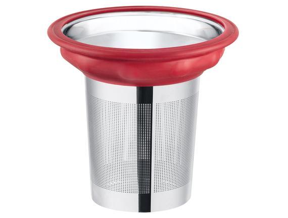 Bayonne Süzgeçli Kupa - Kırmızı