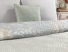 Curtice Çift Kişilik Çok Amaçlı Yatak Örtüsü - Mavi