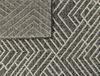 Darcia Halı - Açık Gri / Koyu Gri 80x150 cm