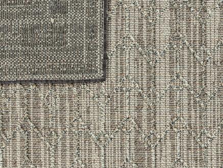 Calantha Halı - Açık Gri / Koyu Gri - 120x170 cm
