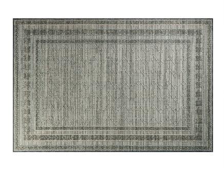 Calantha Halı - Açık Gri / Koyu Gri - 190x290 cm