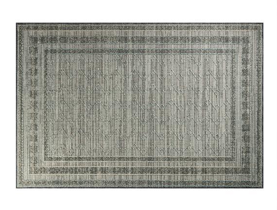 Calantha Halı - Açık Gri / Koyu Gri 190x290 cm