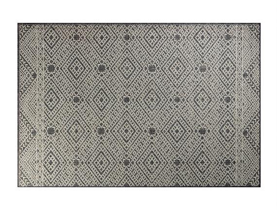 Berthe Halı - Açık Gri / Koyu Gri 120x170 cm