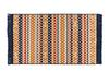 Arlette Saçaklı Dokuma Kilim - Renkli - 120x180cm