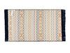 Arlette Saçaklı Dokuma Kilim - Renkli - 60x100cm