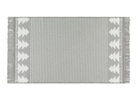 Garen Saçaklı Dokuma Kilim - 120x180 cm
