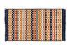 Arlette Saçaklı Dokuma Kilim - Renkli - 80x150cm