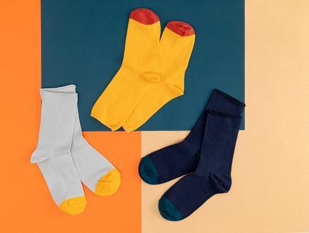 Couleurs Kadın 3'lü Soket Çorap