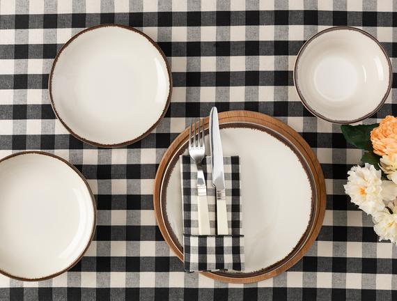 Emeline 8 Parça Yemek Takımı