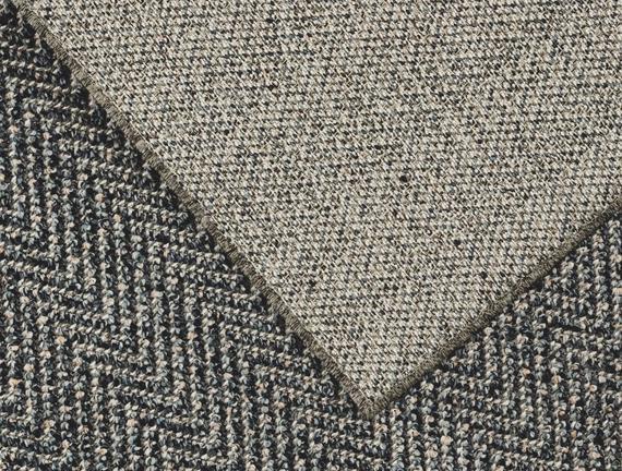 Rayford Halı - Açık Gri / Koyu Gri 80x150 cm