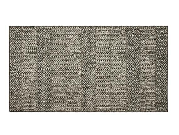 Celesse Halı - Açık Gri / Koyu Gri - 150x230 cm