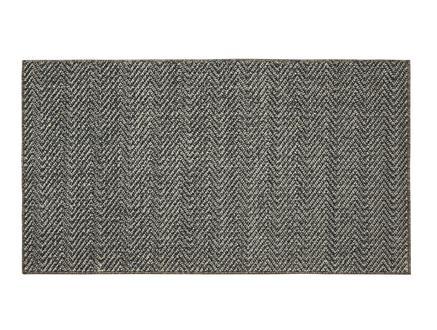 Rayford Halı - Açık Gri / Koyu Gri - 190x290 cm