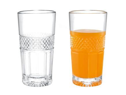 Laurent 4'lü Uzun Boy Meşrubat Bardağı Seti 215 ml