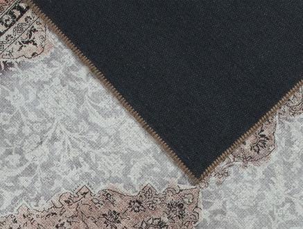 Aluin Dijital Baskılı Halı - Kahverengi - 80x300 cm