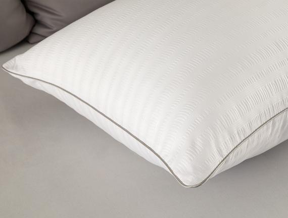 Alvia Bambu Yastık - Beyaz