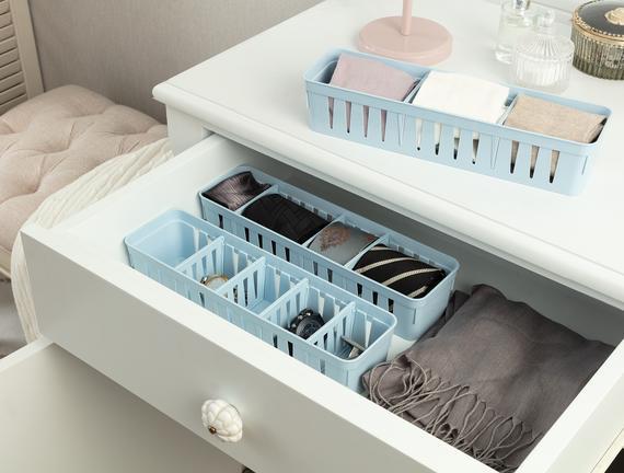 Eloi Ayarlanabilir Organizer 3'Lü - Soft Mavi