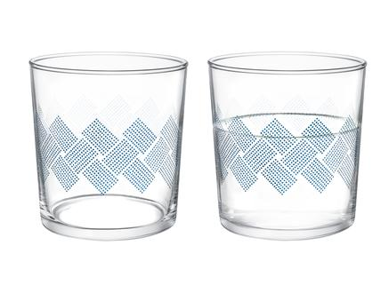 Pierretta Blue Rugs 4'lü Su Bardağı Seti 380 ml