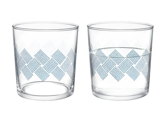 Pierretta Blue Rugs 4'lü Su Bardağı Seti