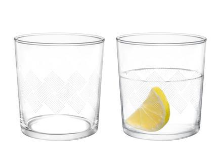 Pierretta White Rugs 4'lü Su Bardağı Seti 380 ml