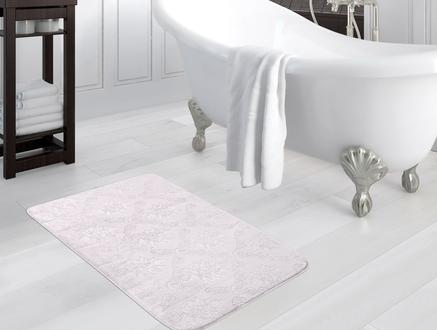 Emboss Banyo Paspası - Mürdüm - 70x110 cm