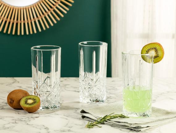 Estee 4'lü Meşrubat Bardağı Seti 342 ml