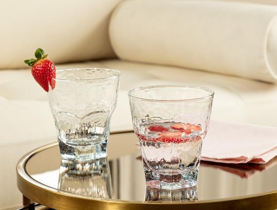Floressa 4'lü Su Bardağı Seti 375 ml