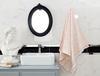 Maynard Jakarlı Banyo Havlusu - Sarı / Beyaz - 70x140 cm