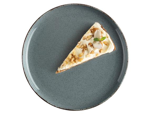 Clara 4'lü Pasta Tabağı Seti - Antrasit