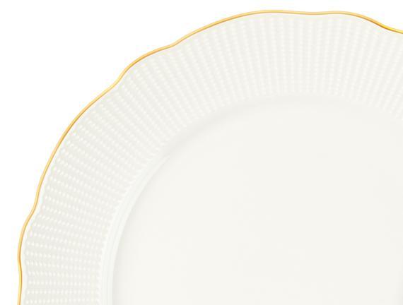 Paisible New Bone China 8 Parça Yemek Takımı - Altın