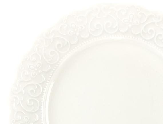 Attrayant New Bone China 8 Parça Yemek Takımı