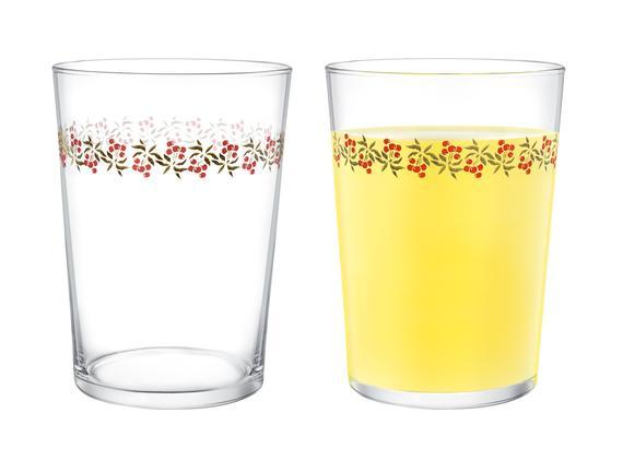 Pierretta-Cherry Bloom 4'lü Meşrubat Bardağı Seti 510 ml